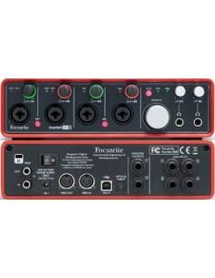 FOCUSRITE - PLACA DE AUDIO USB 18X8